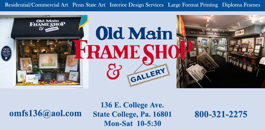 Old Main Frame Shop & Gallery - Header Image
