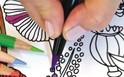 Crescent Coloring Mats