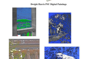 Framing Friday: Artist Dwight Harris – A New Look at Penn State Icons