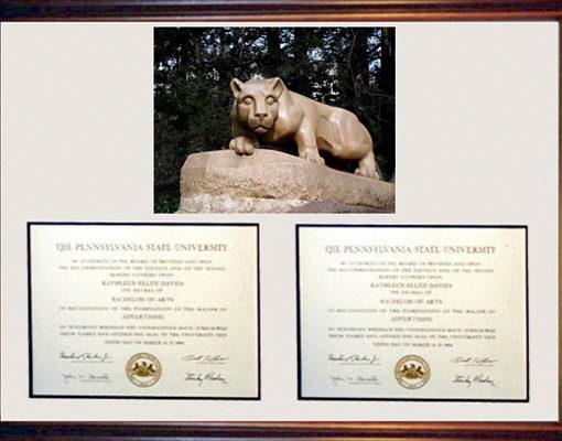 The Executive Diploma Frame