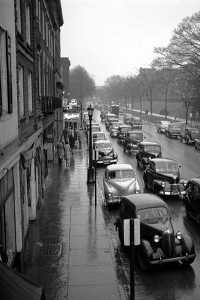 College Avenue Circa 1954