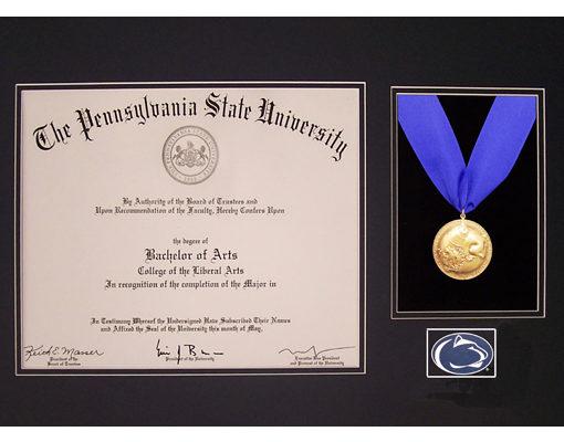 The Scholar Diploma Frame Option 2