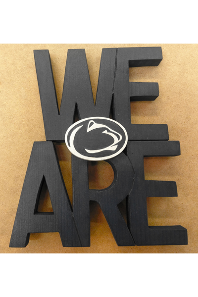 We Are Wall Plaque