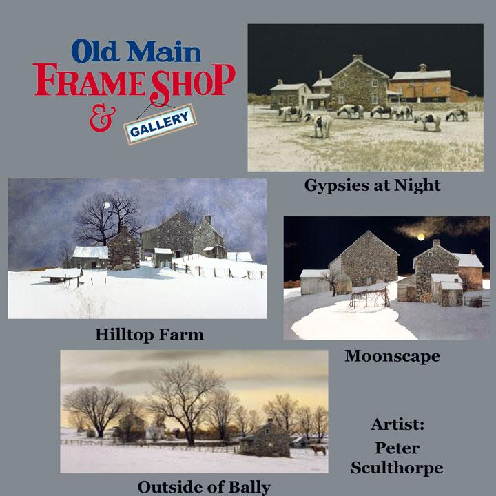 Artist Peter Sculthorpe   Old Main Frame Shop & Gallery