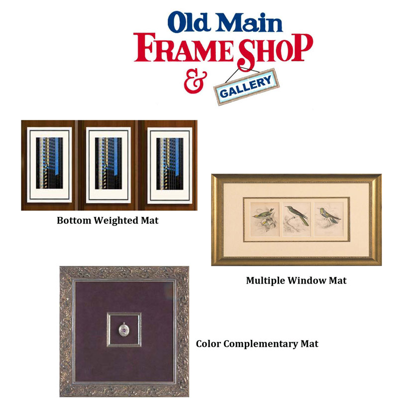 Matting Techniques | Old Main Frame Shop & Gallery