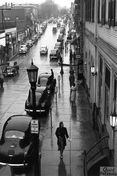 Allen Street in the 40's
