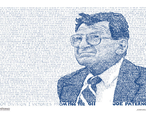 Joe Paterno 409 Wins