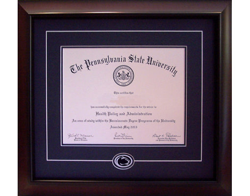 The Classic - Diploma Frame