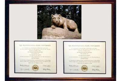 The Executive Diploma Frame