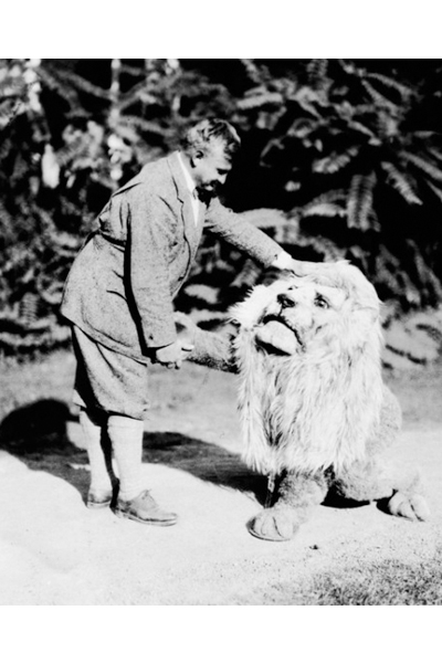 The First Lion Mascot