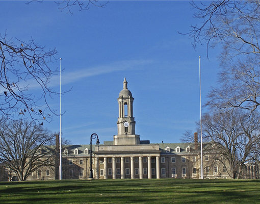 Blue Sky over Old Main