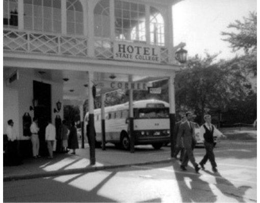 Hotel State College Circa 1960