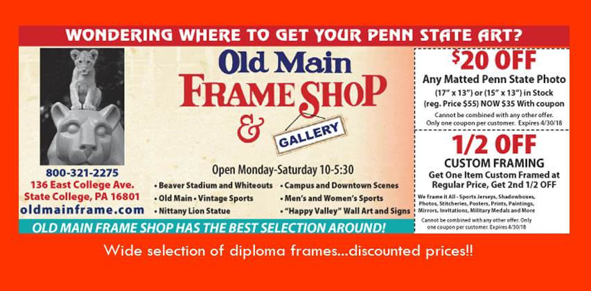 Framing Sale